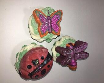 Cupcake Soap in Garden Mint
