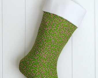 Christmas Stocking / Candy Canes / Item 10