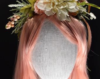 Floral Hair Crowns