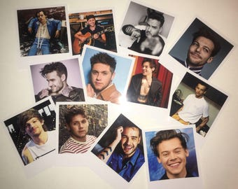 Harry, Louis, Niall, Zayn, Liam Sets of Polaroids