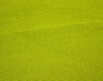 Brushed Twill Green Fabric