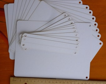 10 sheets for photo book or leave a teabags with edge holder