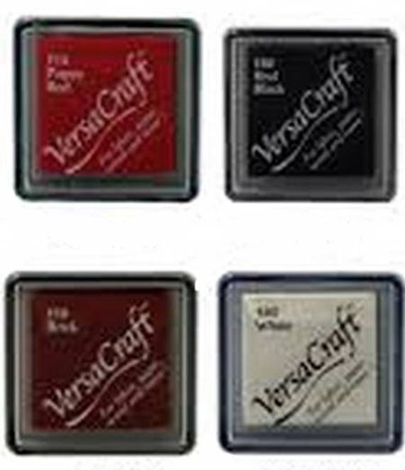 SET of 4 VERSACRAFT ink for fabric and wood