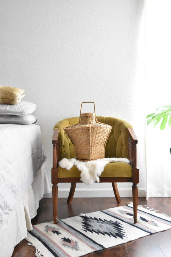 large woven rattan decorative basket with lid and handle