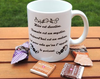 Funny white ceramic mug, coffee mug, tea, coffee, tea, mug, quote mug