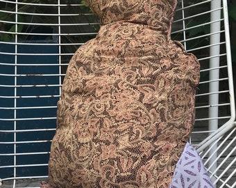 Cat. Homemade and handmade hug from the barking Caterpillar.
