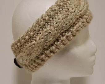 Cabled Headband - Pattern