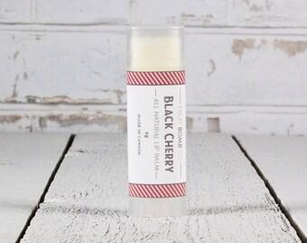 Black Cherry Lip Balm - Natural Moisturizing Lip Balm