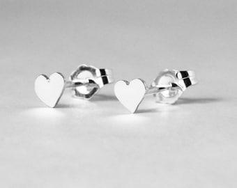 Heart Earring Studs
