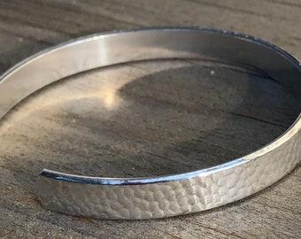 Pebble Embossed Cuff Bracelet