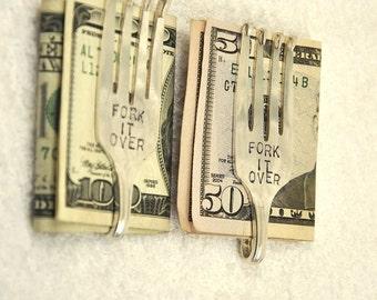2 Fork It Over Money Clips