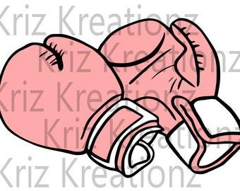 Boxing Gloves SVG Cut File