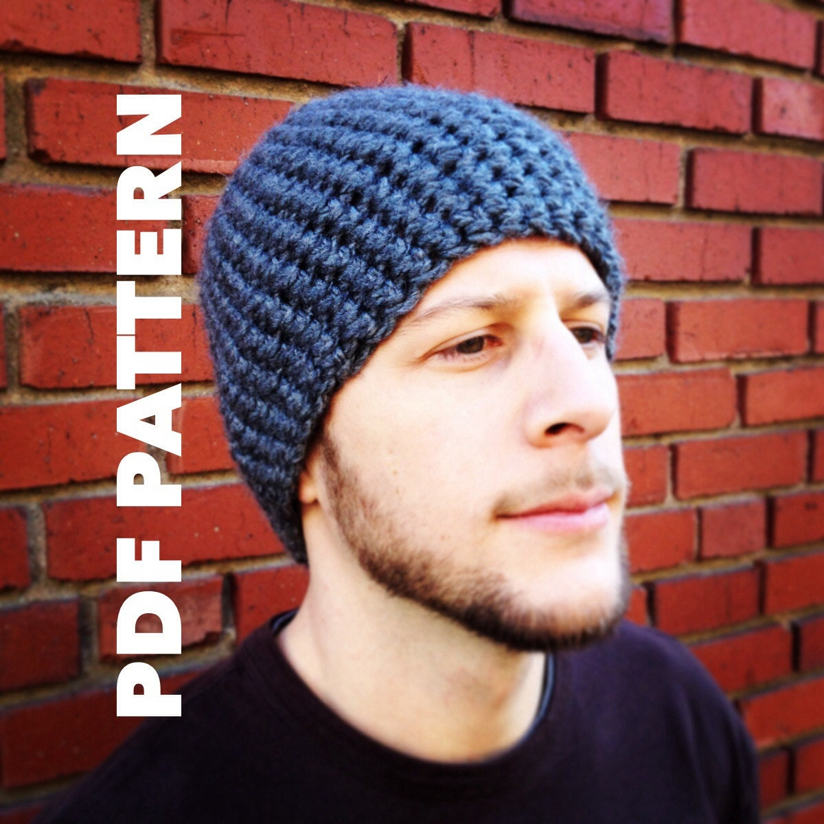 Fine Easy Mens Crochet Hat Pattern Gift - Blanket Knitting Pattern ...