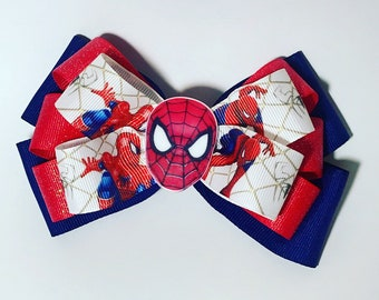 Spiderman Hairbow