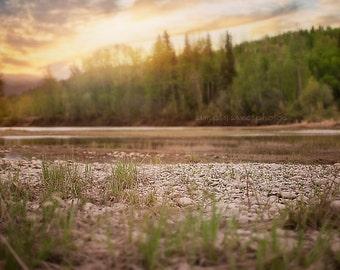Digital Background River