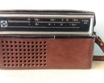 Vintage Portable Radio.Brand:SELGA-402.Made in USSR.