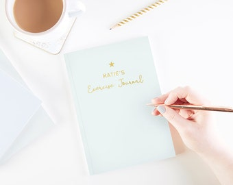 Exercise Journal Personalised Foil