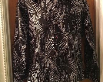 1970s Triumph polyester disco shirt
