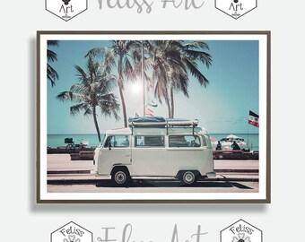 Coastal Prints, Beach Prints, Surfer Prints, Beach photography, Beach Landscape Photo, Tropical Photography, Feliss-Art