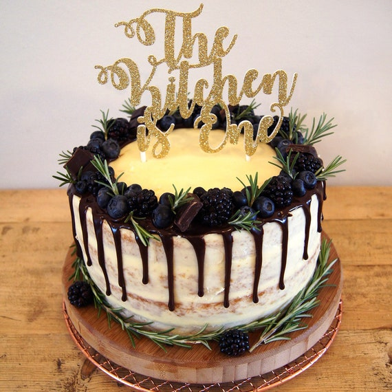 Personalised 1st Birthday Cake Topper Birthday Decorations