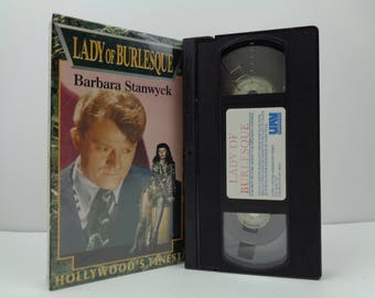 Lady of burlesque VHS Tape