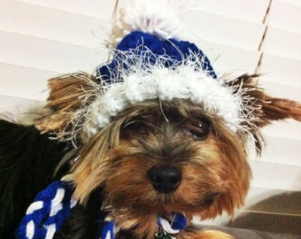 Hat for Dogs - Royal Blue-