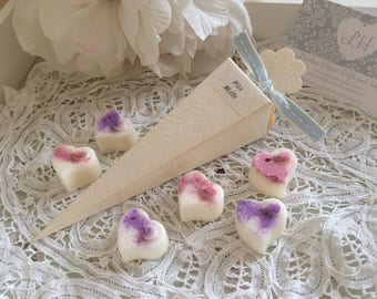 Soy Wax Melts x 6 Gift Box and Ribbon - Scent Choices