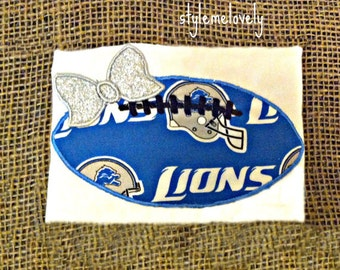 Detroit Lions Baby Girl Football Shirt