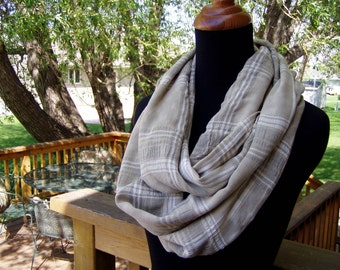 Infinity Scarf - Loop Scarf - Cotton - Eternity Scarf - Circle Scarf