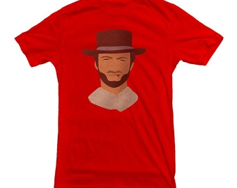 Clint Eastwood T-shirt Dirty Harry Man With No Name Western