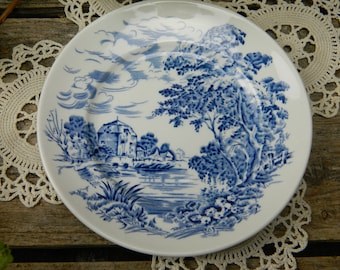 Set of 4 Vintage Enoch Wedgwood Countryside Bread and Butter Plates