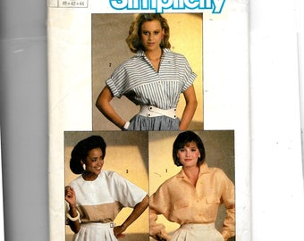 Simplicity Misses' Shirt Pattern 6707