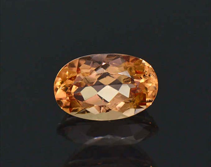 Stunning Bright Orange Imperial Topaz Gemstone from Brazil 2.41 cts.