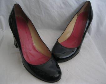 Kate Spade Black Patent Leather Pumps Size 9 B