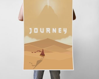 Journey Art Print Poster - Multiple Sizes