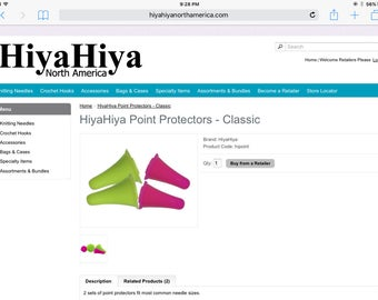 Hiyahiya point protectors