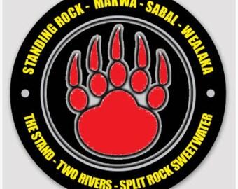 """3"""" SEVEN CAMPS Sticker"""