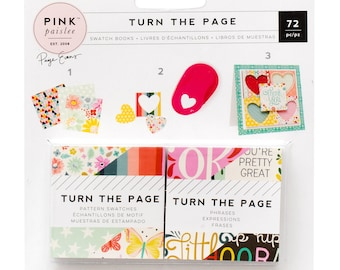 Turn the Page Paige Evans 2x2 swatch books