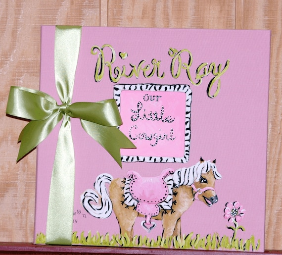 Baby Memory Book | Soft Pink Colors Baby Book