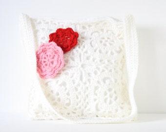 Crochet shoulderbag Winny