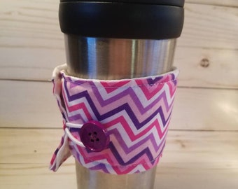 Coffee Cozy, Cup Cozy, Cup Sleeve, Coffee Cuff, Insulated Cup Sleeve