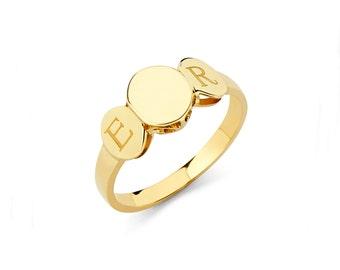 14k yellow gold ring Etsy