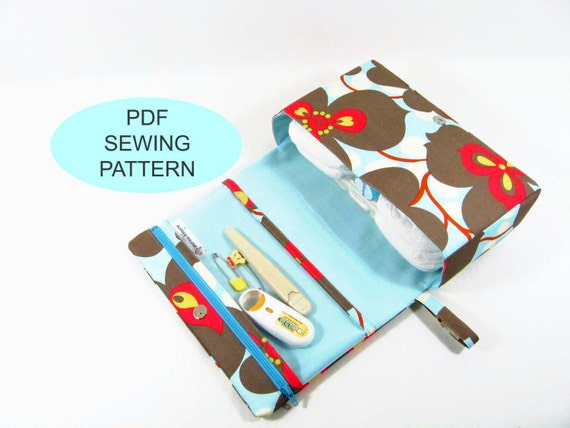PDF sewing tutorial and pattern, make your own bag, instant download ...