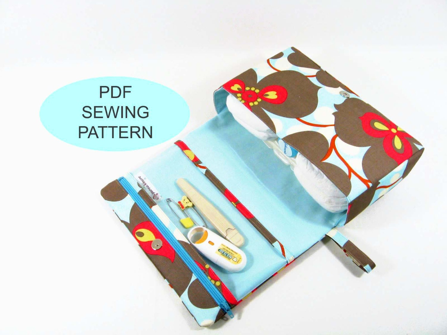 Pdf sewing tutorial and pattern make your own bag instant zoom jeuxipadfo Gallery