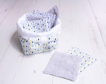 Basket with 10 wipes for baby or MOM