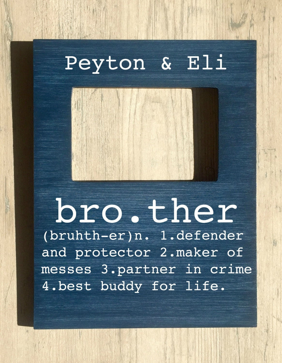 Brother picture frame brother buddy for life big brother little 3900 jeuxipadfo Choice Image