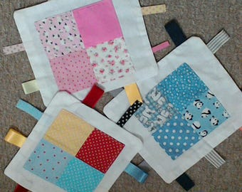 baby comforter/taggy