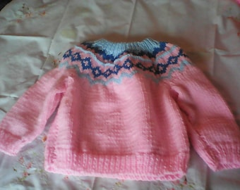 Nordic Baby Sweater.