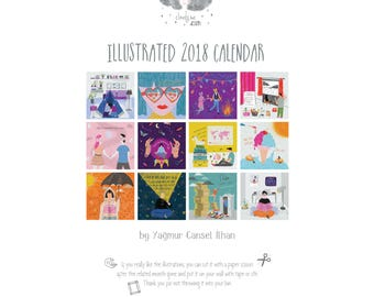 Illustrative 2018 Wall Calendar