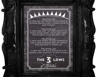 Les trois lois de la robotique